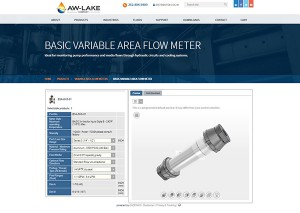 Online Flowmeter Selection Tool Part Configurator